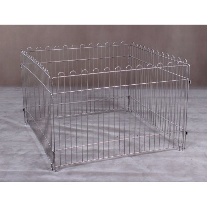 Stainless Steel Play Pen 3ft x 2 ft (Taiwan) [S112] - 1pc